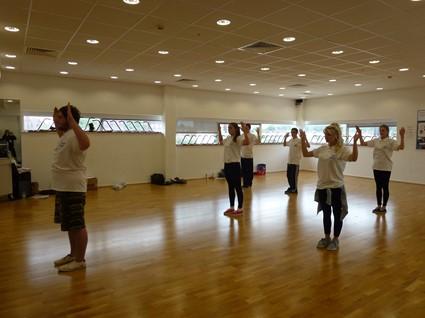 Stoke Dance Leaders Level 1 Summer 2013