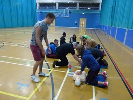 Stoke-on-Trent Community Sports Leaders Level 2 September 2013