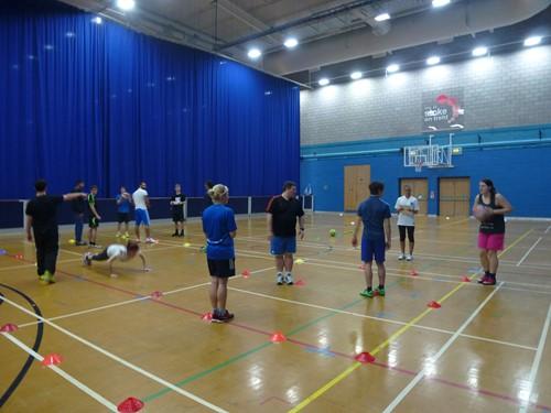 Stoke-on-Trent Level 2 Award in Community Sports Leadership October 2014