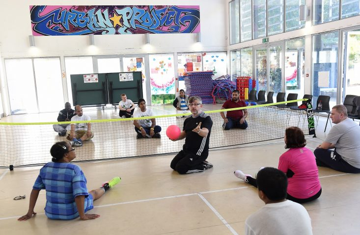 Inclusive Sitting Volleyball Session