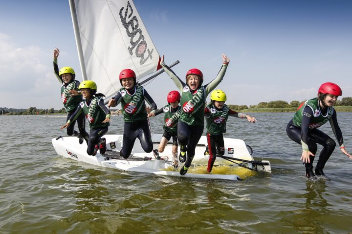 RYA OnBoard participants gain life skills in addition to learning how to sail credit RYA