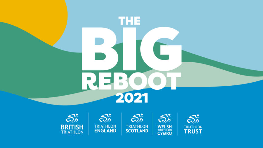 The big reboot logo