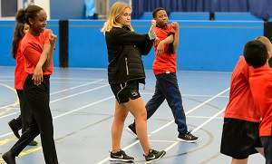 Coaching young people indoors